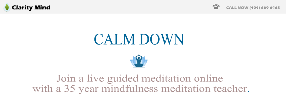 Guided Mediation Online